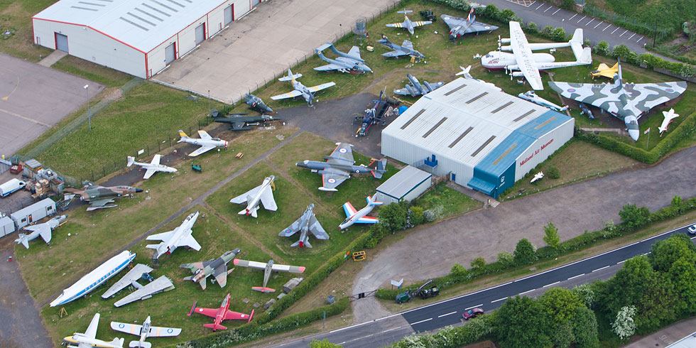 Visit the Midland Air Museum!